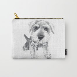 Schnozz the Schnauzer Carry-All Pouch
