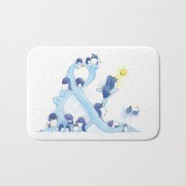 little blue penguin Bath Mat