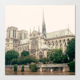 Solemn Notre Dame Canvas Print