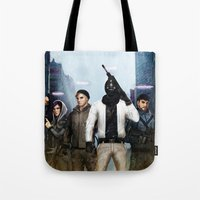 youtube Tote Bags featuring Youtube Gamers by Meder Taab