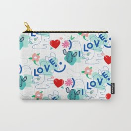 Love Pattern , Pattern for Love  Carry-All Pouch