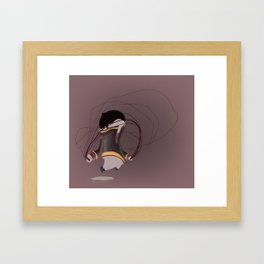 young simba  Framed Art Print