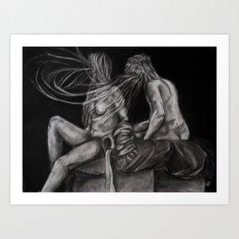 Discord III Art Print