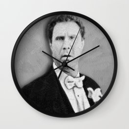 Will Ferrell Funny Old School Tee Shirt Wall Clock