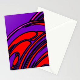 The Lava and The Waves Stationery Cards