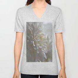 Chrysanthemum Textures Unisex V-Neck
