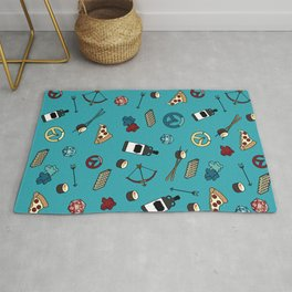 Scotts Favourite Things Rug