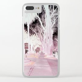 Inverted World Clear iPhone Case