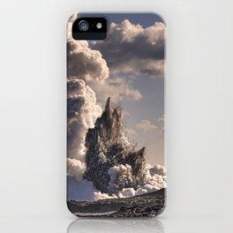 Kilauea Volcano at Kalapana 3b iPhone Case