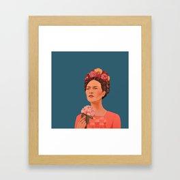 moi, Frida! Framed Art Print