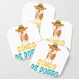 Cinco De Doggo -  Cinco De Mayo Dog Coaster