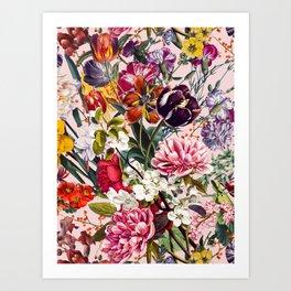 Exotic Garden - Summer Art Print
