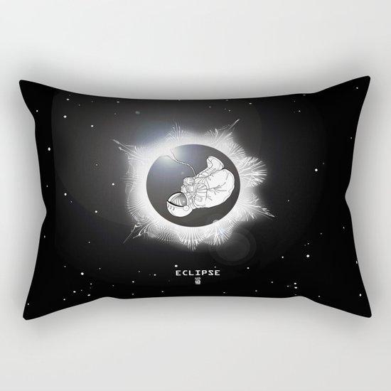 ECLIPSE :: rebirth of the lost cosmonaut Rectangular Pillow