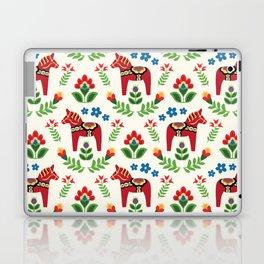 Swedish Dala Horses Red Laptop & iPad Skin
