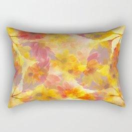 Changing Seasons Abstract Rectangular Pillow