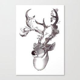 San Venado/ Saint Deer Canvas Print