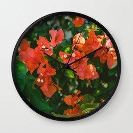 Tropical Hawaii IV Wall Clock