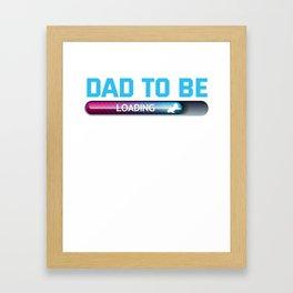 Vater Vatertag Geschenk Framed Art Print