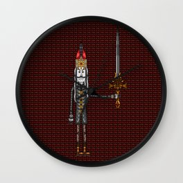 Vlad III Dracula in the Year 1962 Wall Clock