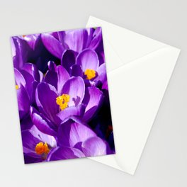 Purple sea Stationery Cards