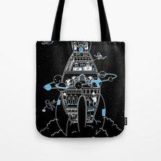 Interstellar Travels Tote Bag