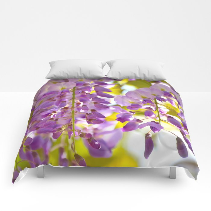 Spring Colors! #decor #society6 #buyart Comforters
