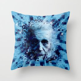 Albert Einstein 2 Throw Pillow