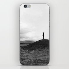 breath iPhone & iPod Skin