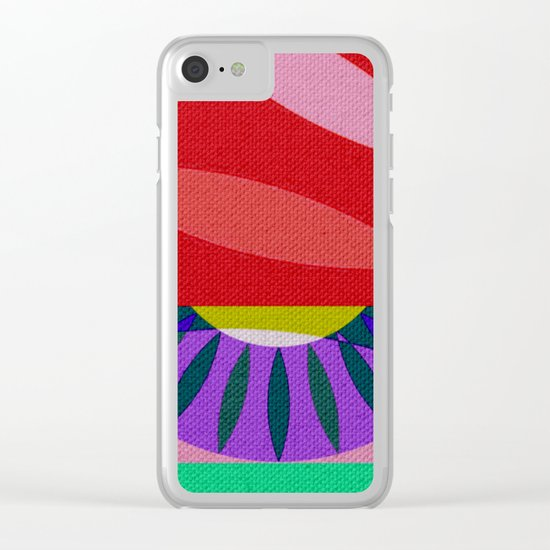 My Psychedelic God Maia Clear iPhone Case