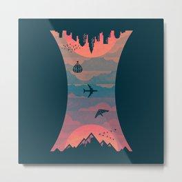 Sunrise / Sunset Metal Print
