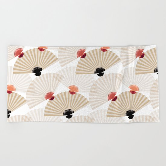 ornament Beach Towel