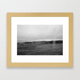 on the road, I, scotland Framed Art Print