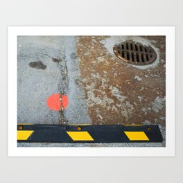 Street Abstract Art Print