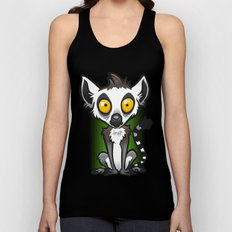 Ring-Tailed Lemur Unisex Tank Top