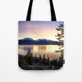 Lake Dillon Sunset Tote Bag