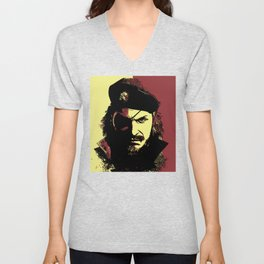 Big Boss (naked snake from metal gear solid) Unisex V-Neck