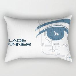 BLADE RUNNER (White - Voight Kampf Test Version) Rectangular Pillow