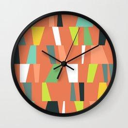Modern Geometric 38 Wall Clock