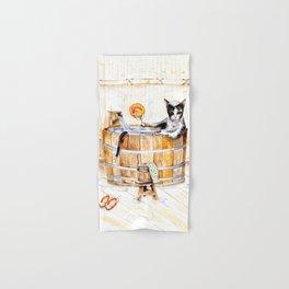 Onsen Cat - Do not disturb Hand & Bath Towel