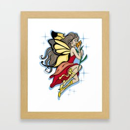 Little fairy Framed Art Print
