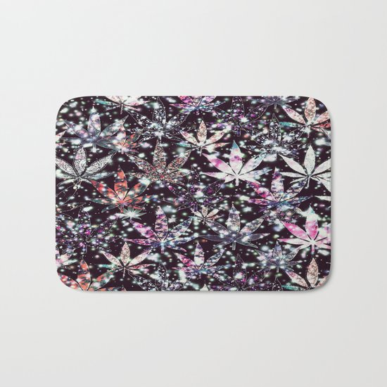 gorgeous weed-126 Bath Mat