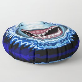 Shark Jaws Attack Floor Pillow