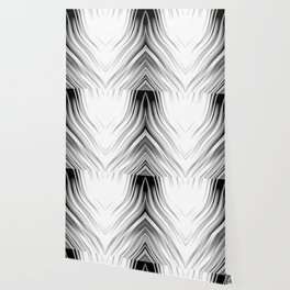 stripes wave pattern 3 bwi Wallpaper