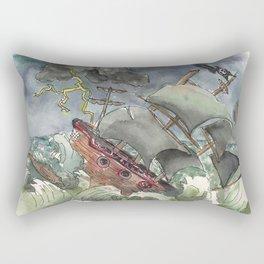 Dark and Stormy Night Rectangular Pillow