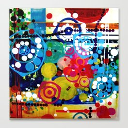 """When I Close My Eyes""  Canvas Print"