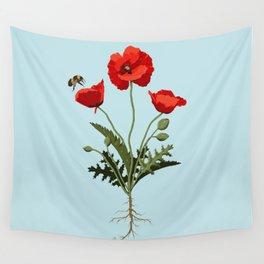 Poppy Wall Tapestry