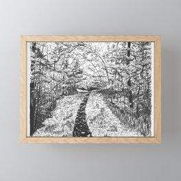 The Path Framed Mini Art Print