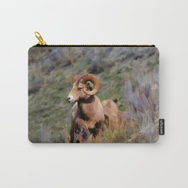 Rocky Mountain Bighorn Sheep Carry-All Pouch