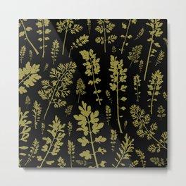parsley forest Metal Print