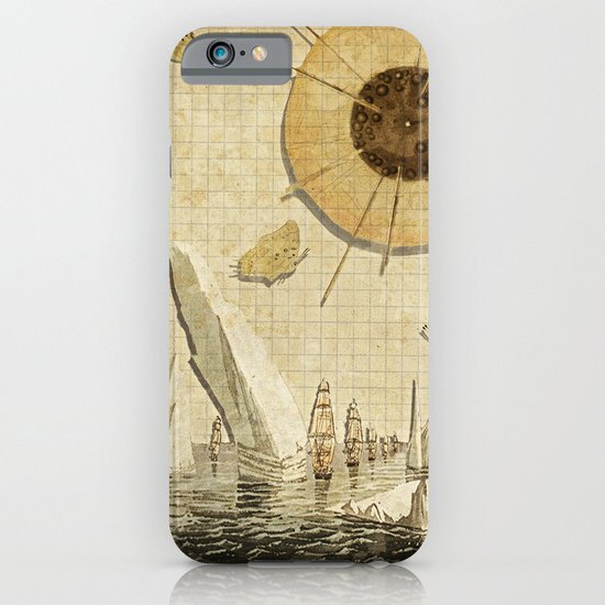 paper I :: butterflies/icebergs iPhone & iPod Case